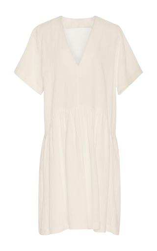 Medium whit white catalina gauze dress