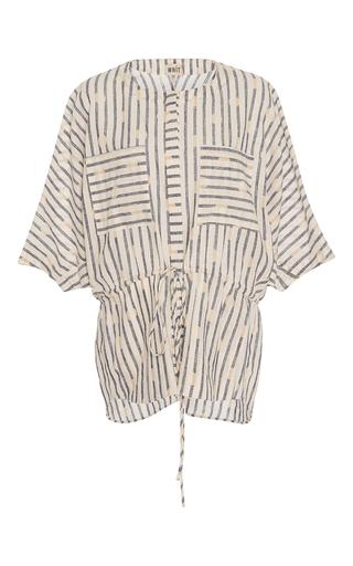 Medium whit white short sleeve darby top
