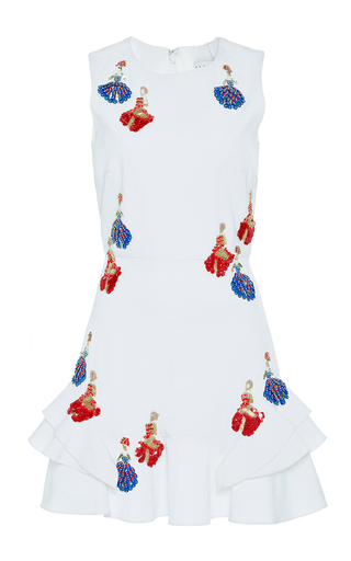 Medium tanya taylor white embellished lula dress