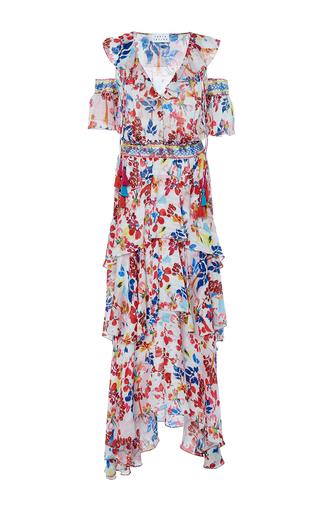 Medium tanya taylor floral textured floral isabelle dress
