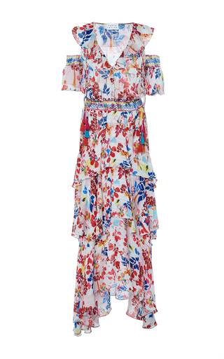 Medium tanya taylor floral textured floral isabelle dress