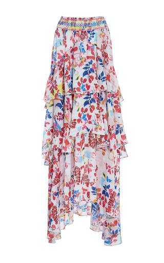 Medium tanya taylor floral textured floral mariana skirt
