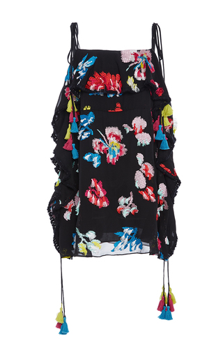 Medium tanya taylor floral embroidered floral gabriella dress