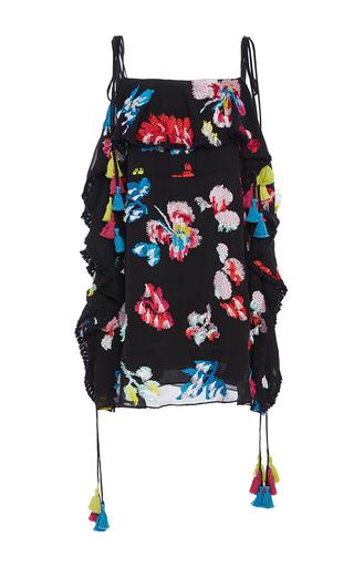 Medium tanya taylor floral embroidered floral gabriella dress