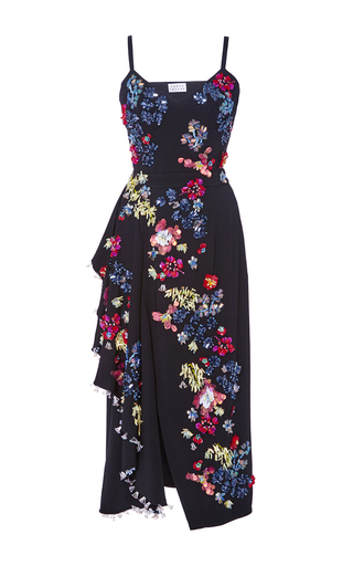 Medium tanya taylor black embellished alana dress