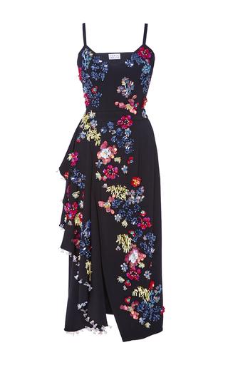 Medium tanya taylor black embellished alana dress