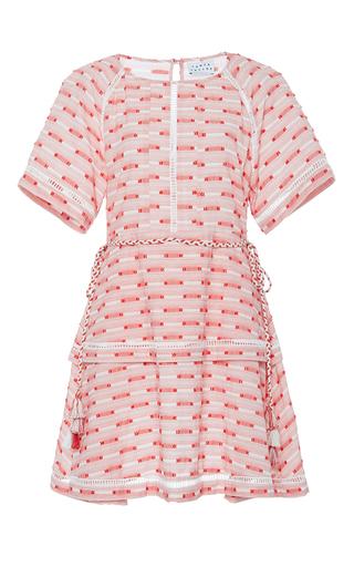 Medium tanya taylor pink stripe leigh dress