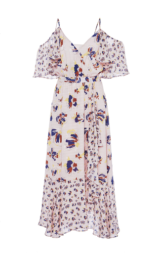 Medium tanya taylor print textured floral amylia dress