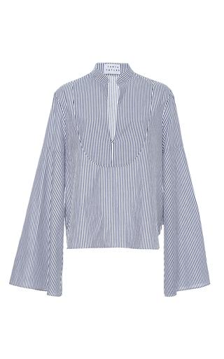 Medium tanya taylor stripe menswear stripe klara top