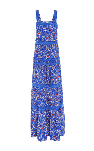 Medium tanya taylor print textured wildflower chrissy dress