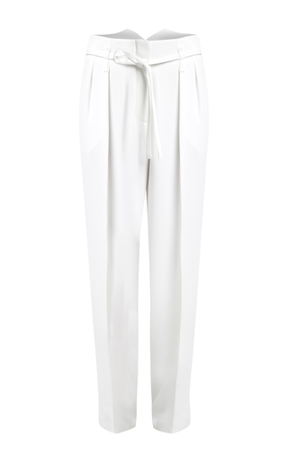 Medium lala berlin white alice pure belted pants