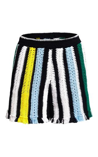 Medium lala berlin multi asta crochet shorts