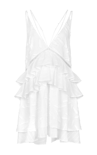 Medium lala berlin white rika mini dress