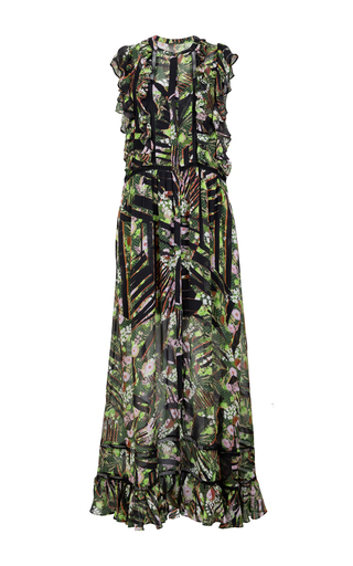 Medium lala berlin multi djamal floral maxi dress