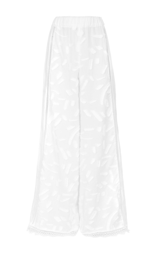 Medium lala berlin white filippa wide leg pants