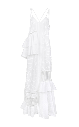 Medium lala berlin white ajdin maxi dress