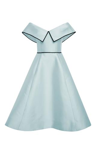 Medium elizabeth kennedy blue light blue off the shoulder cocktail dress