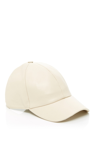 Medium vianel ny green leather baseball cap 3