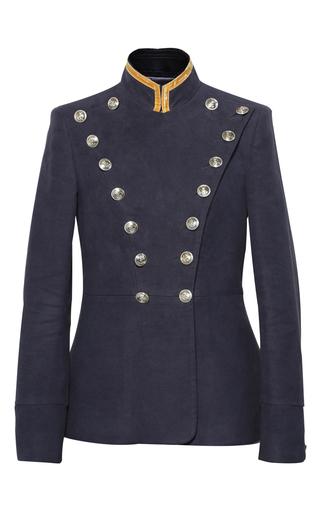 Medium pinky laing black the lancer jacket