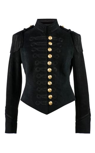 Medium pinky laing black the anna jacket