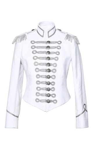 Medium pinky laing white the saskia jacket