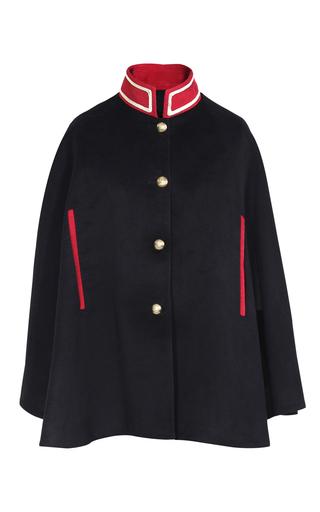 Medium pinky laing black the wk cape
