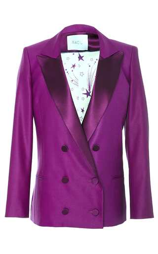 Medium racil purple prince double breasted purple rain jacket