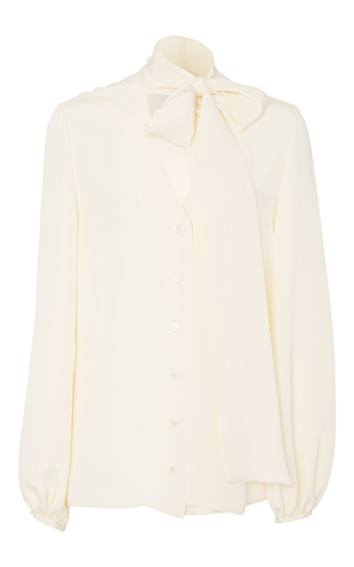 Medium racil white delirious long sleeve blouse