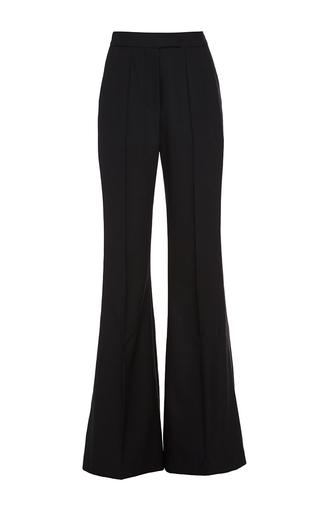 Medium racil black ziggy flared trousers