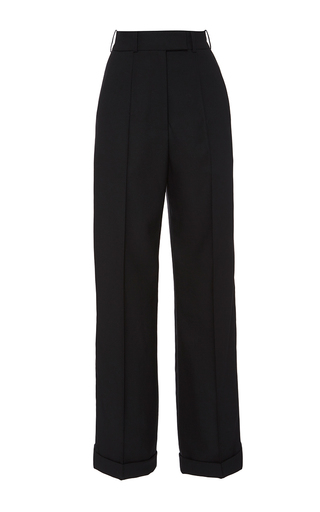 Medium racil black starman high waist trousers 2