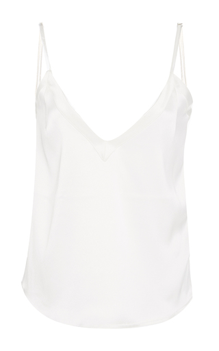 Medium racil white fame tank top