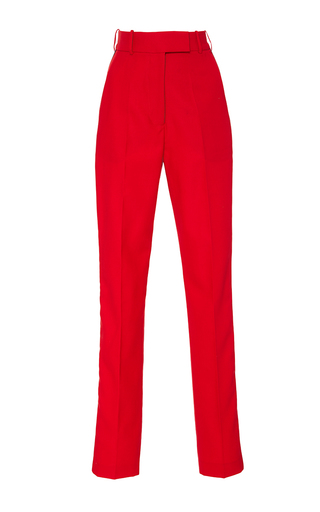 Medium racil red stones slim trousers 2