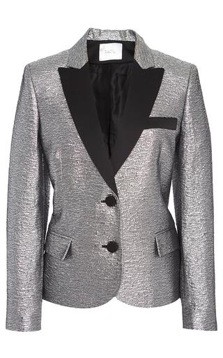 Medium racil metallic mick fitted space oddity jacket
