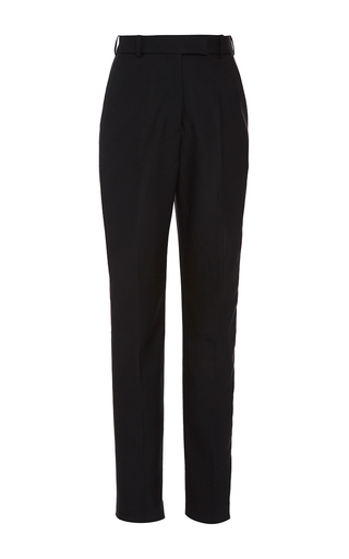 Medium racil black stones slim trousers 3