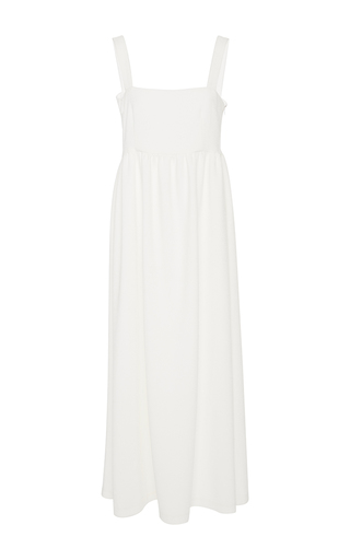Medium racil white jerry empire waist dress