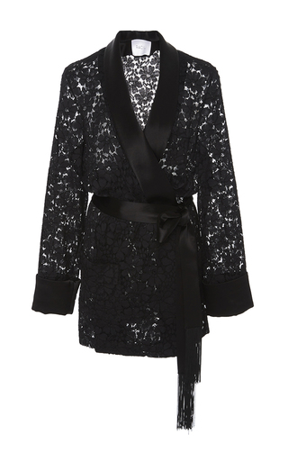Medium racil black angie lace jacket