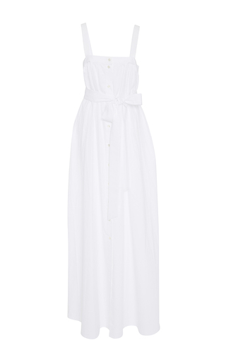 Medium racil white rainbow satin dress