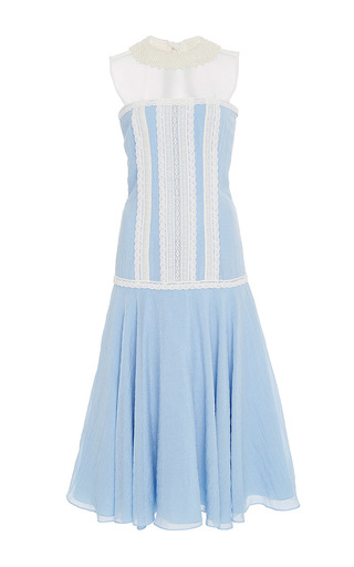 Medium zayan the label light blue dana a line midi dress
