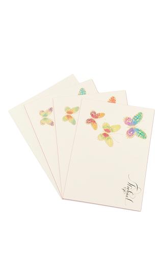 Medium bernard maisner neutral butterfly custom grand statement cards