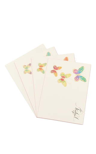 Medium bernard maisner neutral butterfly custom grand statement cards