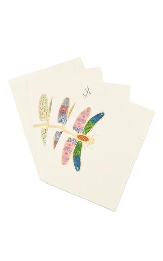 Medium bernard maisner neutral dragonfly custom grand statement cards