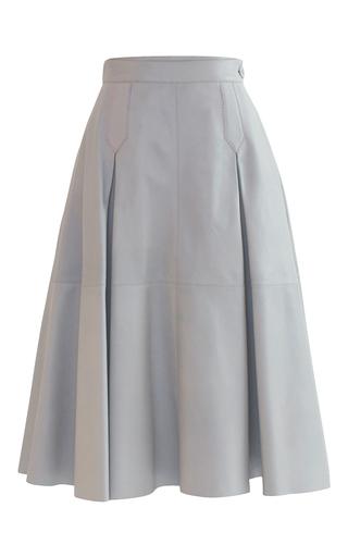 Medium alejandra alonso rojas grey sofia flared midi skirt