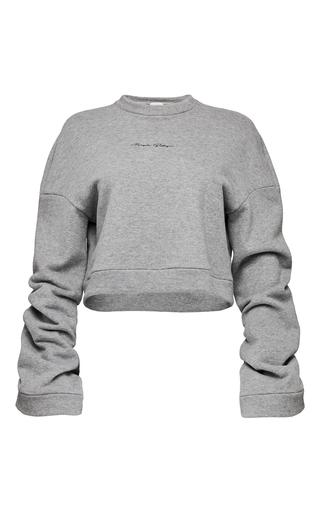 Medium magda butrym grey cropped sweater 2