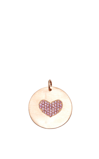 Medium julez bryant rose gold extra large lacy rose gold charm