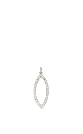 Medium julez bryant silver edie white gold charm