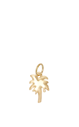 Medium with love darling gold small palm tree charm