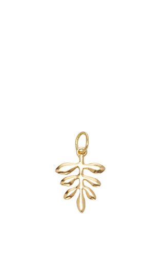 Medium with love darling gold small olive branch charm