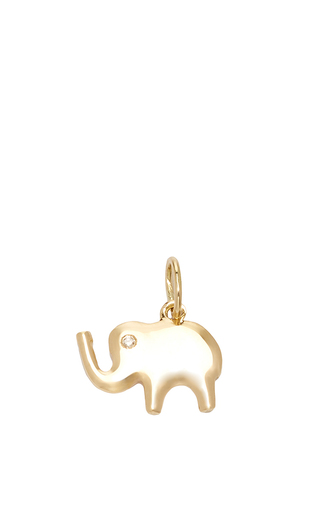 Medium with love darling gold small lucky elephant charm