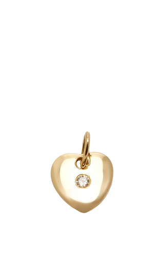 Medium with love darling gold small little heart charm