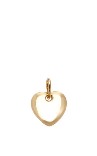 Medium with love darling gold small little heart charm 2